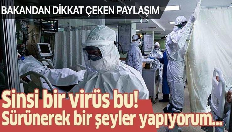 Sağlık Bakanı Fahrettin Koca'dan 'Yaşayandan Uyarılar' paylaşımı!