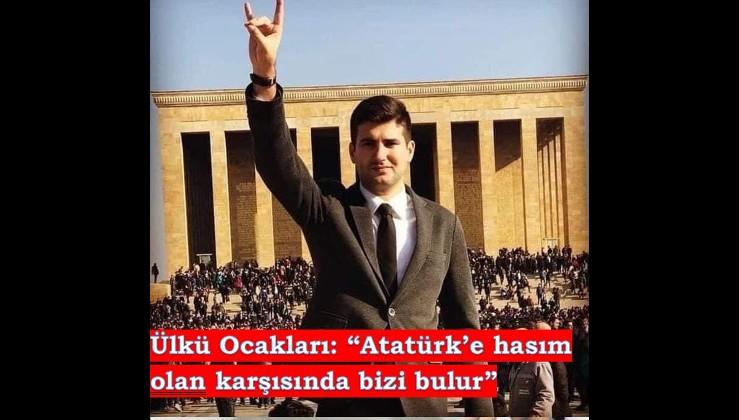 """Ülkü Ocakları: """"Atatürk'e düşman olan karşısında bizi bulur"""""""