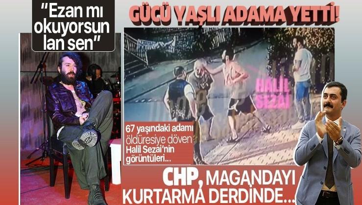 Halil Sezai babası yaşındaki adamı dövdü, karakolluk oldu! İşte Halil Sezai'nin 67 yaşındaki adamı dövdüğü anlar...
