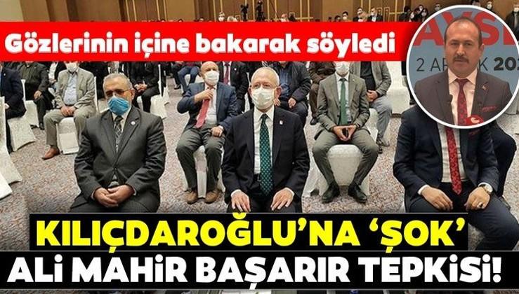 Kılıçdaroğlu'na muhtarlarla toplantısında şok 'Ali Mahir Başarır' tepkisi