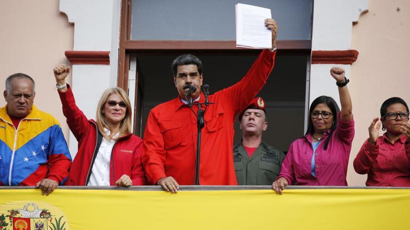 ABD'nin hedefindeki Venezuela'ya dayanışma mesajları