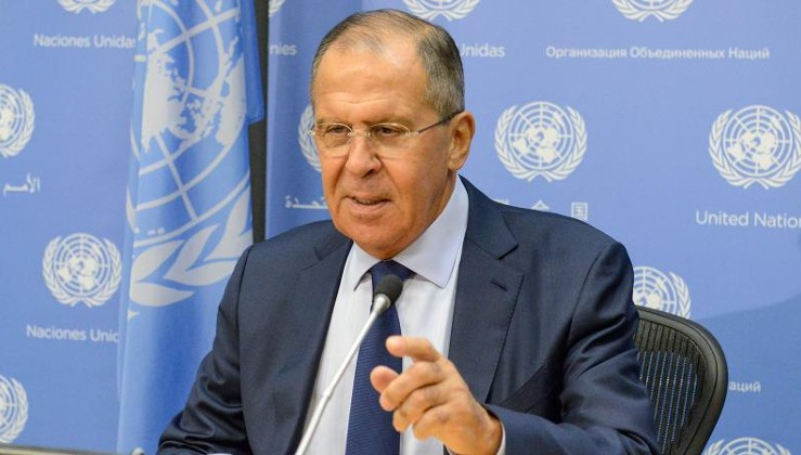 Lavrov: Türkiye ve Rusya, Suriye'nin tam egemenliğinden yana