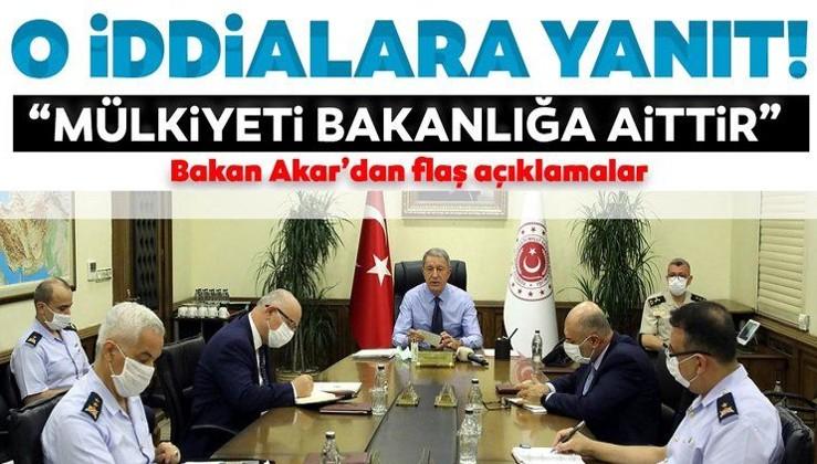 Son dakika haberi! Milli Savunma Bakanı Hulusi Akar'dan o iddialara sert yanıt!