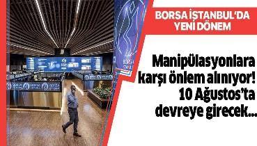 Borsa İstanbul'da endeks bazında devre kesici uygulamasına geçiliyor