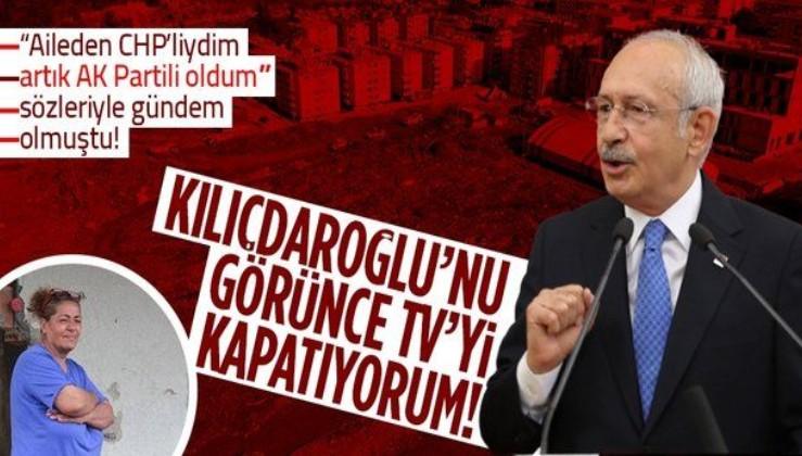 """Kastamonu'daki sel felaketi sonrası """"CHP'liydim artık AK Partiliyim"""" sözleriyle gündem olan Nurten Özçelik ilk kez konuştu"""