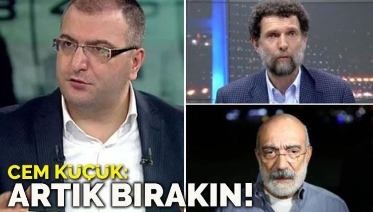 Plan Büyük, Cem Küçük: Osman Kavala ve Ahmet Altan artık bırakılsın