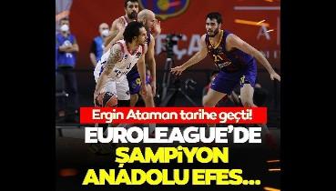 Son dakika: EuroLeague'de şampiyon Anadolu Efes! Ergin Ataman tarihe geçti…