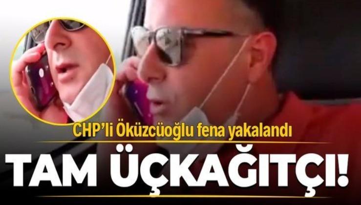 CHP'li Alaşehir Belediye Başkanı Ahmet Öküzcüoğlu fena yakalandı! Muhtarla hayali telefon görüşmesi...