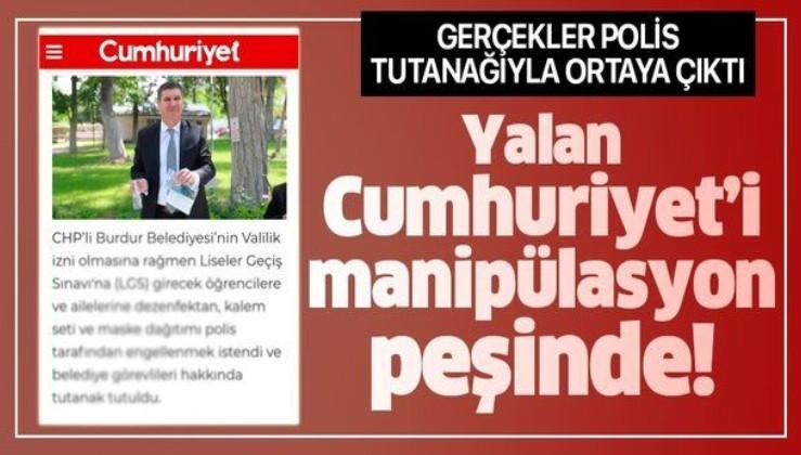 Cumhuriyet LGS'de görevli polis memurları üzerinden manipülasyon yaptı!