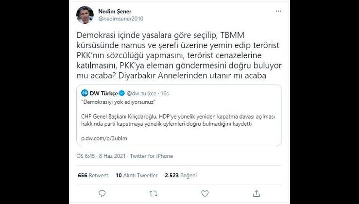 KILIÇDAROĞLU HDP'NİN PKK'YA ELEMAN GÖNDERMESİNİ DOĞRU BULUYOR MU?