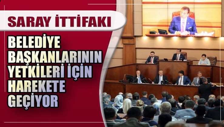 AKP ve MHP'nin belediye Hamlesi