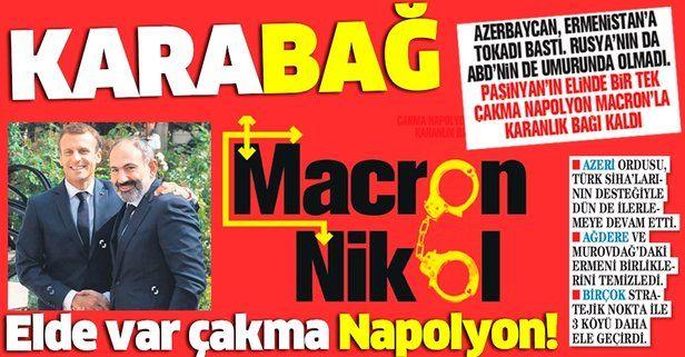 Azerbaycan'dan tokat yiyen Paşinyan, Rusya ve ABD'nin umurunda olmadı! Geriye Macron'la olan karanlık bağı kaldı