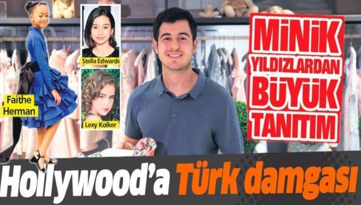 Hollywood'un pek çok minik ünlüsü 25 yaşındaki Ata Sarı'nın 'Türkiye' imzalı elbiselerini seçiyor