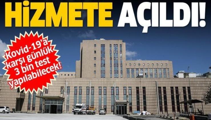 Bakan Koca duyurdu: Başıbüyük Eğitim ve Araştırma Hastanesi hizmete açıldı