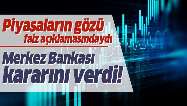 Son Dakika: Merkez Bankası 16 Ocak 2020 faiz kararı!.