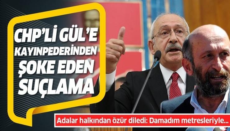 Adalar Belediye Başkanı CHP'li Erdem Gül'le ilgili kayınpederinden bomba suçlama: Metresleriyle....