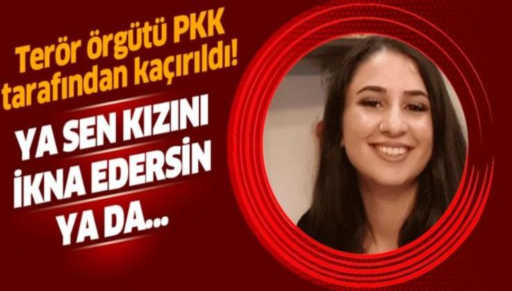 Almanya'da PKK tarafından kaçırılan genç kızın annesi yardım istiyor .