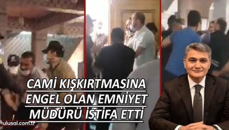 Alpaslan Kuytul'un liderliğindeki Furkancıların camideki kışkırtmasına müdahale edilen Gaziantep'te İl Emniyet Müdürü Cengiz Zeybek istifa etti