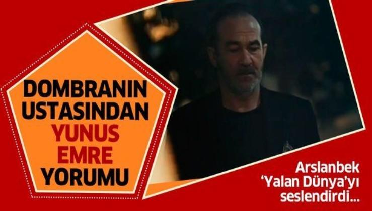Dombranın ustası Arslanbek Sultanbekov, Yunus Emre'nin 'Yalan Dünya'sını yorumladı