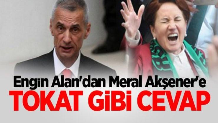 """Engin Alan'dan HDP ile ittifak tepkisi: """"Bu şerefsizlerle işbirliği en büyük..."""""""
