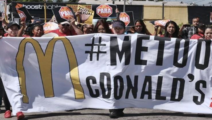 McDonald's çalışanlarından 100 yılın en büyük grevi