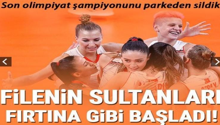 Filenin Sultanları son olimpiyat şampiyonu Çin'i parkeden sildi!