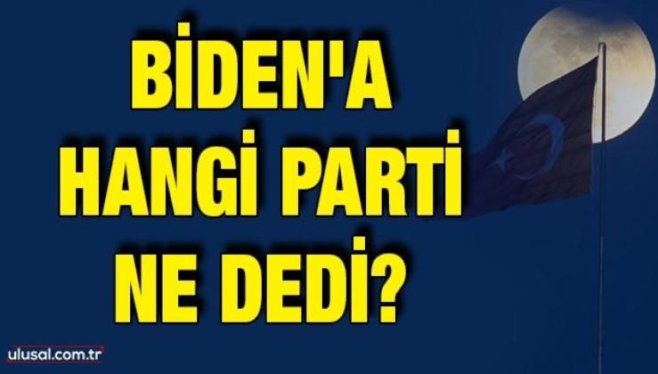Biden'a hangi parti ne dedi?