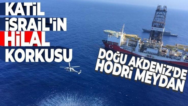 İsrail'in 'Türk hilali' korkusu! Doğu Akdeniz'de hodri meydan!