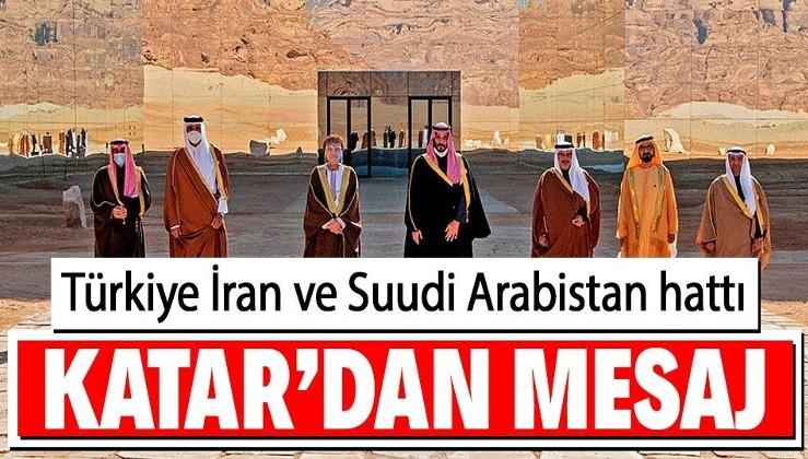 Katar, Suudi Arabistan'ın Türkiye ve İran ile ilişkileri için arabulucu olacağını açıkladı