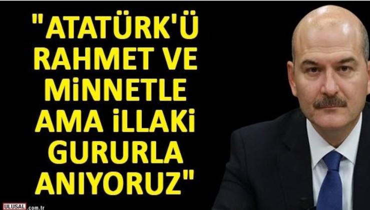 """""""Atatürk'ten aldığımız ilhamla bugün de aynı mücadeleyi veriyoruz"""""""