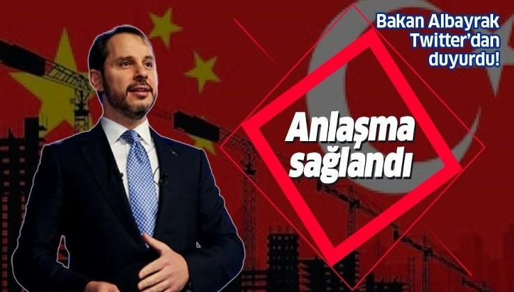 Çin'le dev anlaşma: Türkiye'ye 5 milyar dolar!