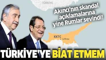 Son dakika: KKTC Cumhurbaşkanı Mustafa Akıncı'dan skandal Türkiye açıklaması: Biat etmem