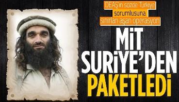 Kırmızı kategoride aranan terörist Kasım Güler, MİT'in Suriye'deki operasyonuyla yakalanarak Türkiye'ye getirildi