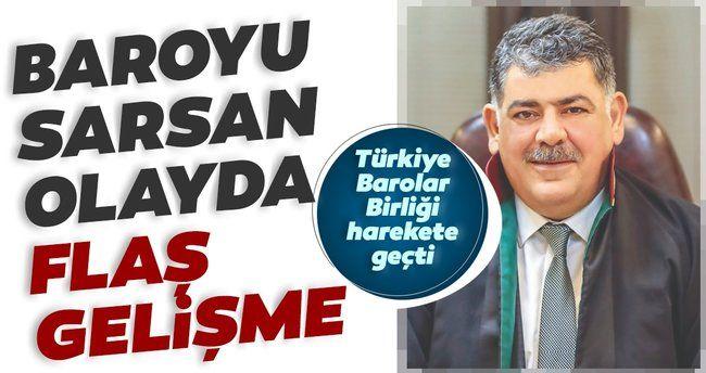 SON DAKİKA: Şanlıurfa Baro Başkanı Abdullah Öncel hakkında taciz ve şantaj iddiasıyla soruşturma başlatıldı