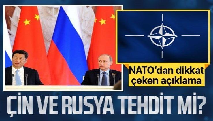 NATO Genel Sekreteri Stoltenberg'ten dikkat çeken Çin ve Rusya açıklaması: Doğrudan tehdit görmüyoruz