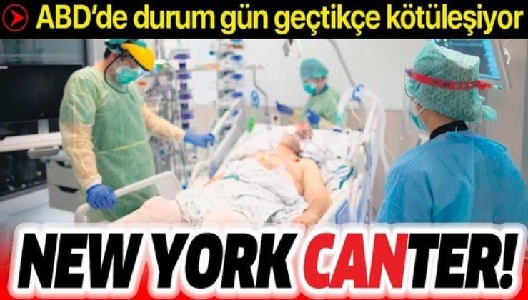 Coronavirüs, ABD'yi etkisi altına altındı! New York'ta durum gün geçtikçe kötüleşiyor...