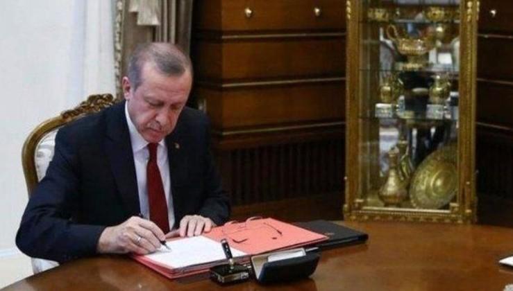 Atama kararları Erdoğan'ın imzasıyla Resmi Gazete'de yayımlandı