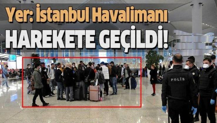 Son dakika: Koronavirüs nedeniyle İstanbul Havalimanı'nda bekletilen yabancı yolcular Karabük'e gönderildi.