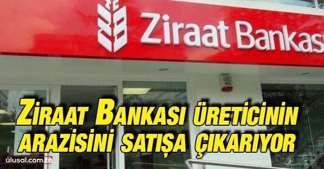 Ziraat Bankası borçlu üreticinin arazisini satışa çıkarıyor