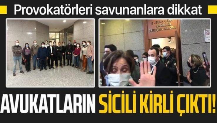 Boğaziçi provokatörlerini DHKP-C terör örgütünün avukatları savundu!