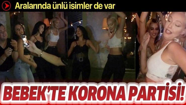 İstanbul Bebek'teki ünlü işletmede skandal görüntüler kamerada! Ne maske var ne sosyal mesafe
