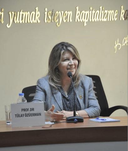 Prof. Dr. Tülay Özüerman: MÜKEMMEL  BAKIŞ  AÇISI