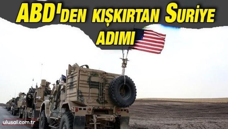 ABD Fırat'ın doğusuna asker yığıyor