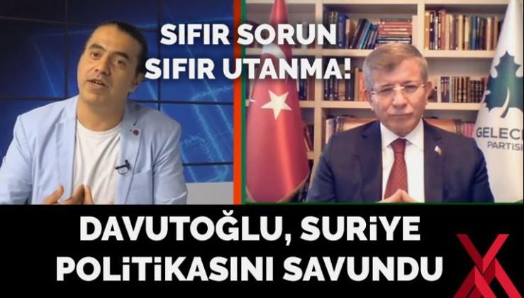 Davutoğlu, Suriye politikasını savundu