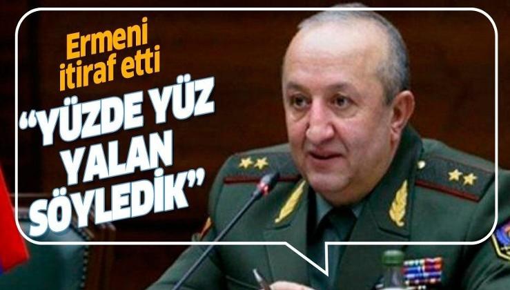 Ermeni General Movses Hakobyan'dan itiraf: Savunma Bakanlığı'nın çatışmalarla ilgili verdiği bilgilerin tamamı yanlış