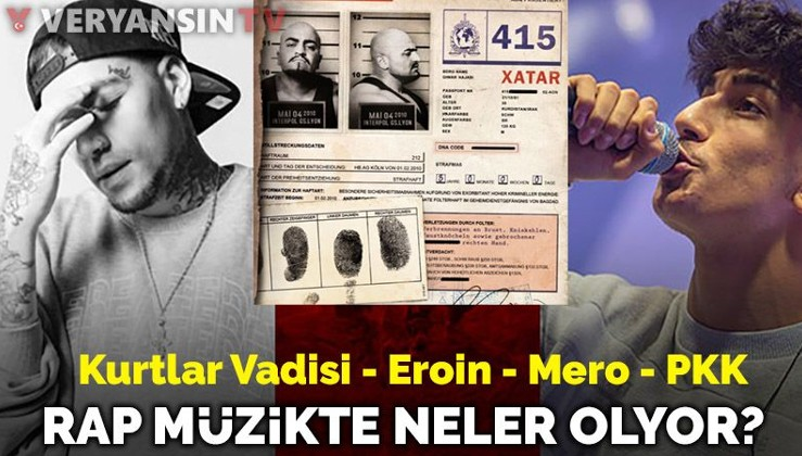 PKK, eroin parasını ünlü rapçilerle mi aklıyor? Ezhel ve Mero'ya büyük suçlama
