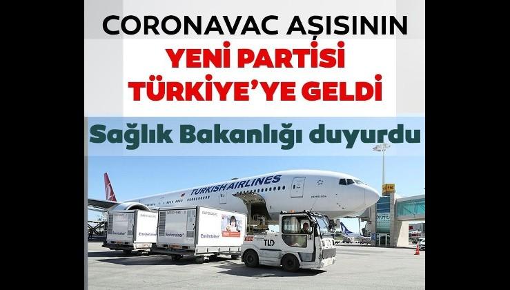 Son dakika: Sinovac CoronaVac aşısını taşıyan uçak Esenboğa Havalimanı'na indi
