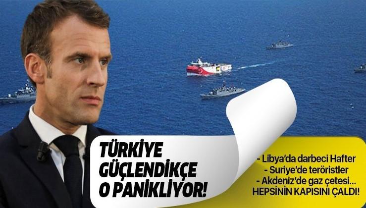 Son dakika: Türkiye güçlendikçe Macron panikliyor!