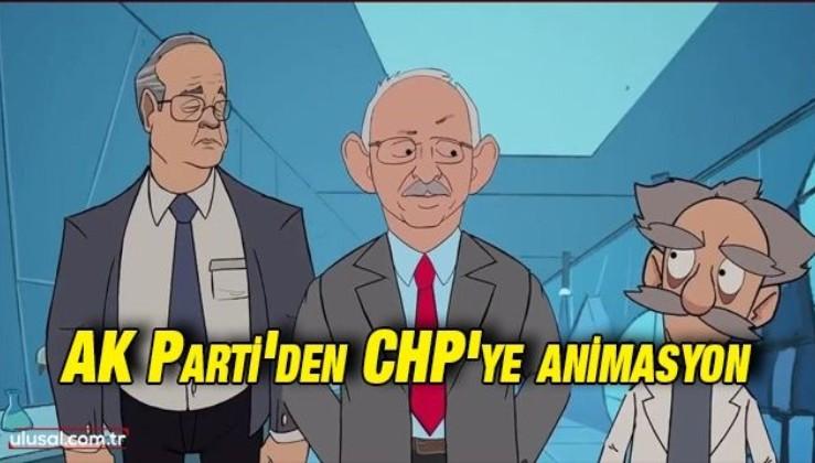 AK Parti'den CHP'ye animasyon