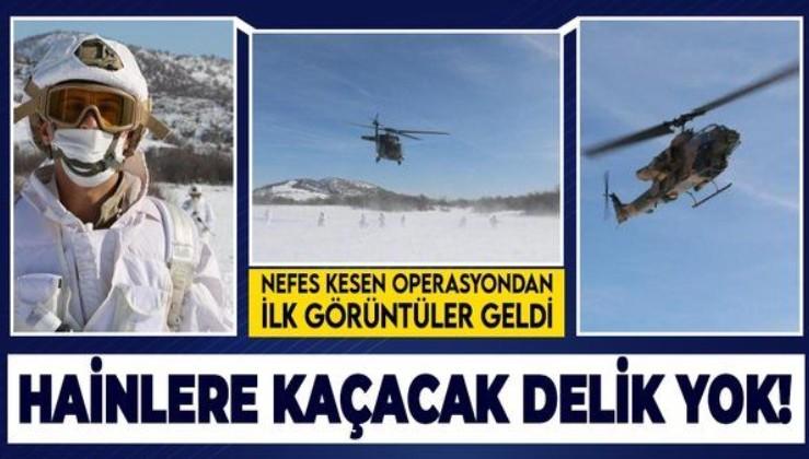 """Son dakika: """"Eren-7 Mercan Munzur Operasyonu"""" başladı! Teröristlerin inlerine girilecek"""